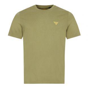 Barbour Beacon T-Shirt Small Logo   Green
