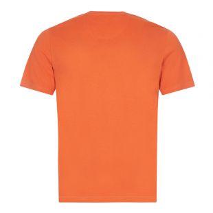 Beacon T-Shirt Small Logo - Orange