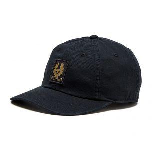 belstaff phoenix logo cap | black