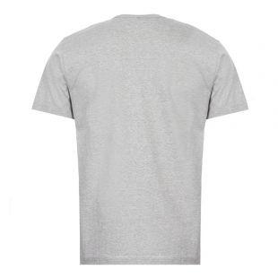 T-Shirt Gold Heart Logo - Grey