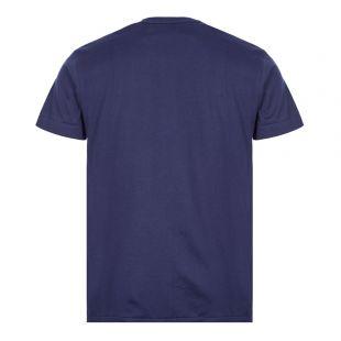 Text Logo T-Shirt - Navy