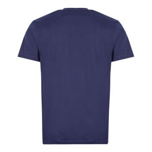 T-Shirt Triple Heart Logo - Navy