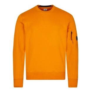 CP Company Logo Sweatshirt Fleece   Desert Sun