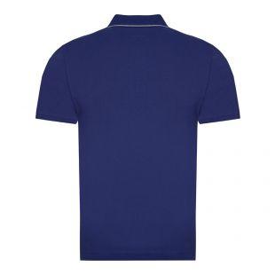 Short Sleeve Logo Polo - Blueprint