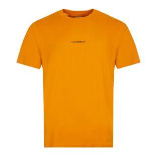CP Company T-Shirt Compact Logo   Desert Sun