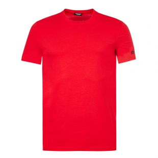DSquared T-Shirt Love Logo | Red