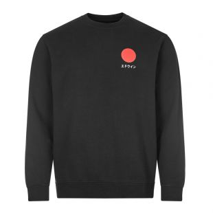 Edwin Sweatshirt Sun Logo | I028969 89 67 03 Black | Aphrodite