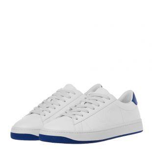 Trainers Kourt K Logo - White / Royal Blue