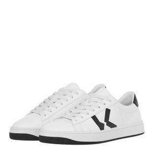 Sneakers K Logo - White