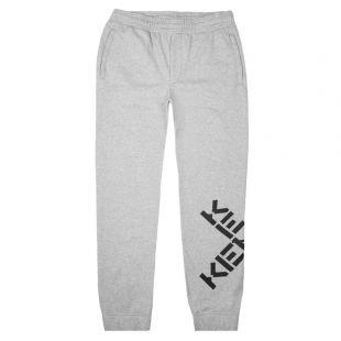 Kenzo Sweatpants Logo   PFA65PA7124MS 94 Grey   Aphrodite