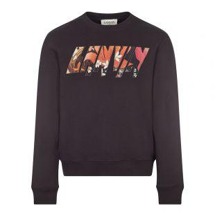 Lanvin Sweatshirt Logo | Black | Aphrodite