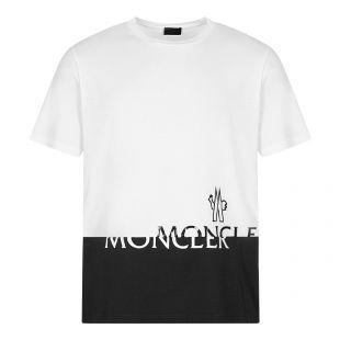 Moncler Logo T-Shirt White Aphrodite 1994