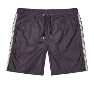Moncler Swim Shorts Logo | 2C710 00 53326 743 Navy | Aphrodite