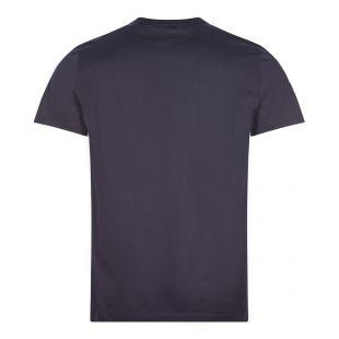 T-Shirt Double Logo - Navy