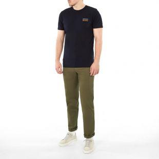 Neils T-Shirt Logo Stack - Navy