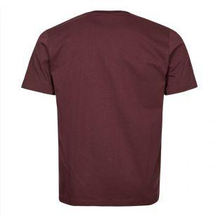 Niels Standard Logo T-Shirt - Cordovan Brown