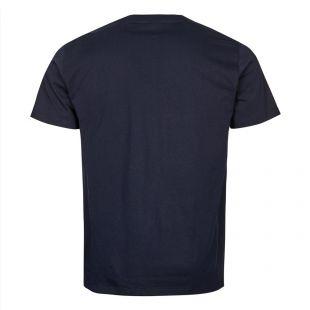 Niels Standard Logo T-Shirt - Navy