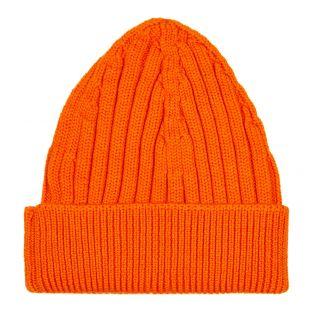 Box Logo Beanie - Orange