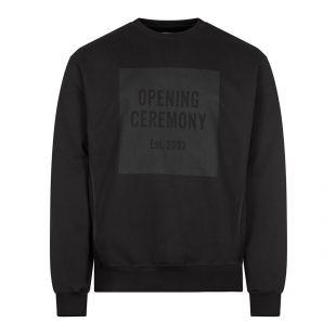 Box Logo Sweatshirt - Black