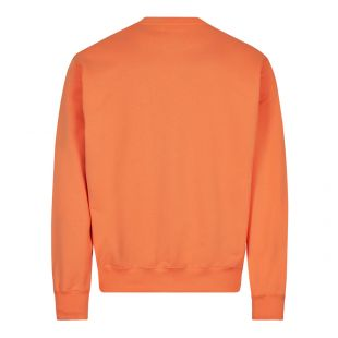 Box Logo Sweatshirt - Orange