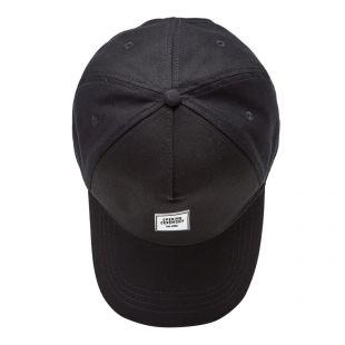 Box logo Tracker Cap - Black