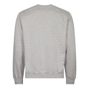 Cartoonish Logo Sweatshirt - Grey Melange