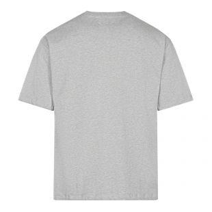 Cartoonish Logo T-Shirt - Grey Melange