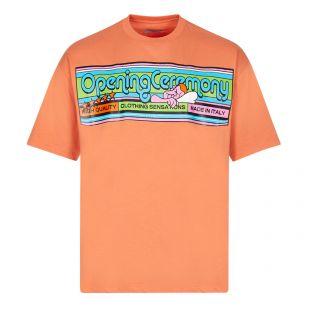 Opening Ceremony Cartoonish Logo T-Shirt, Orange, Aphrodite 1994