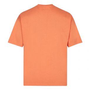 Cartoonish Logo T-Shirt - Orange