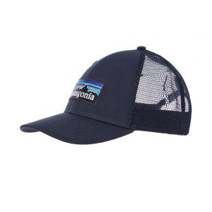 Patagonia P-6 Logo Trucker Hat | 38283 NVYB Navy