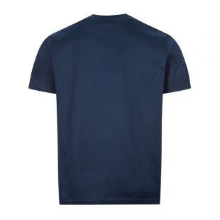T-Shirt Logo Embroidery - Navy