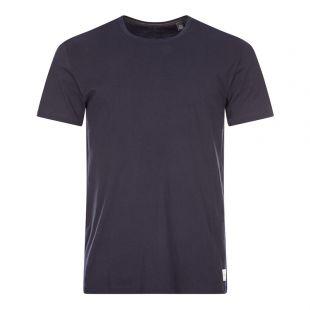 Paul Smith T-Shirt Patch Logo | M1A 591B AU278 48 Inky | Aphrodite
