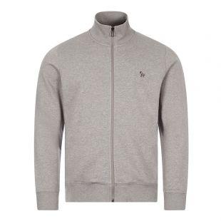 Paul Smith Zebra Logo Zip Sweatshirt | Grey