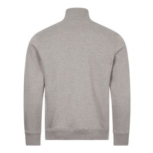 Zebra Logo Zip Sweatshirt - Grey