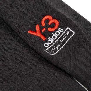 Socks Logo - Black / Red