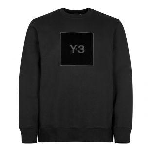 Sweatshirt Graphic Logo - Black