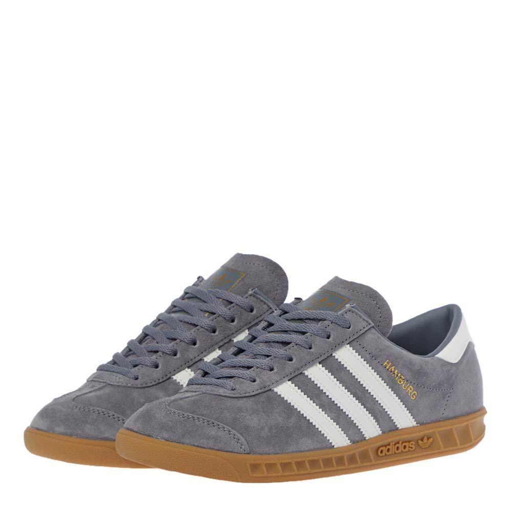 adidas Originals Hamburg Trainers | FX8114 Grey / Off White | Aphrodit