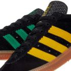 Padiham Trainers - Black / Green / Yellow