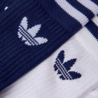 Two Pack Socks - White/Navy