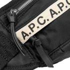 APC Taped Bumbag - Black  21598CP -3