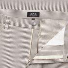 Trousers Job - Grey Stripe