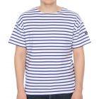 Armor-Lux Mariniere Doelan T Shirt in Blue
