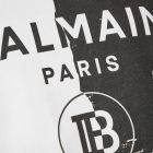 T-Shirt - Black / White
