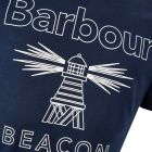 Barbour T-Shirt - Navy 21510CP -3