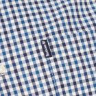 Gingham Shirt - Indigo