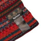 Barbour Scarf Red Melrose USC0112 RE5