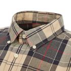 Barbour Shirt Sandwood - Stone  21517CP -4