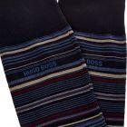 Socks Multi stripe - Navy