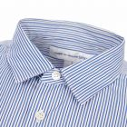 Pinstripe Shirt - Blue