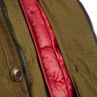 Hooded Jacket - Olive